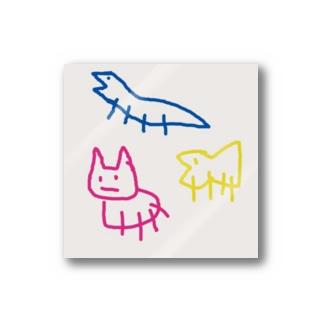 ジローの愉快な仲間たち Stickers