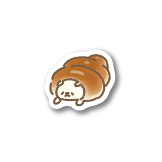 コロネに食べられてつら犬 Stickers