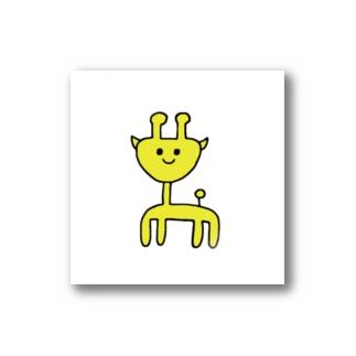 キリンステッカー Stickers