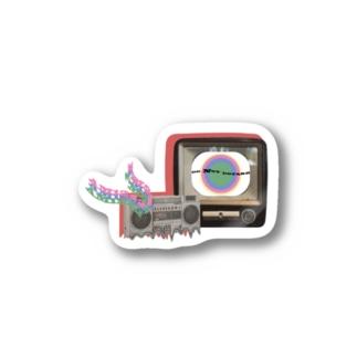 TVRadio Stickers