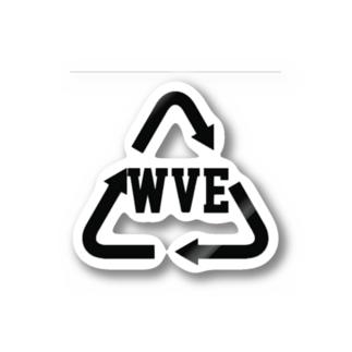 WVE Creationロゴグッツ Stickers