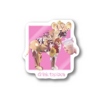 タピ Stickers