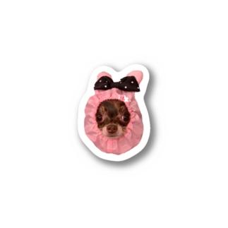 Dr.イエロー46の空ちゃん Stickers