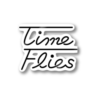TimeFliesグッズ Stickers