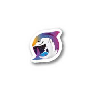 JAWS SONIC & MIDNIGHT JAWS 2020 グッズ販売のJAWS SONIC & MIDNIGHT JAWS 2020 ステッカー Stickers