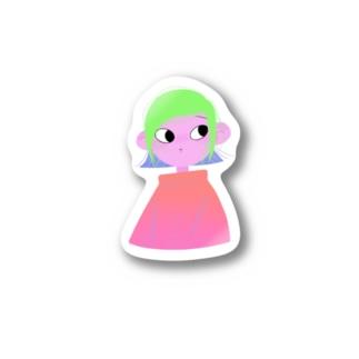ミドリちゃん Stickers
