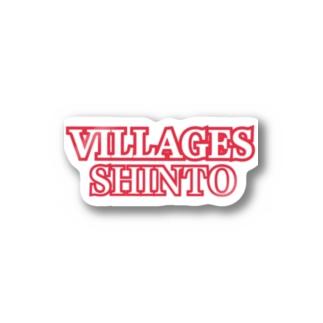 ビレッジーズオリジナルアイテム Stickers