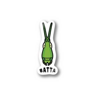 BATTA バッタ Stickers