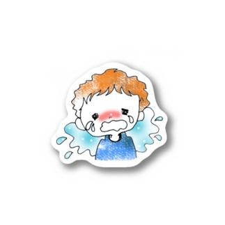 ぎゃん泣きくん Stickers