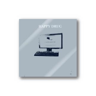 happy drug Stickers