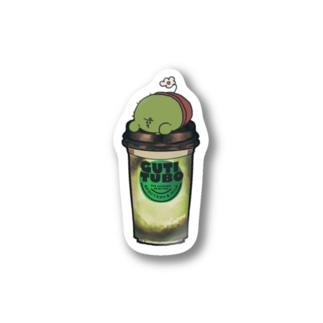 飲むサボテン ステッカー Stickers
