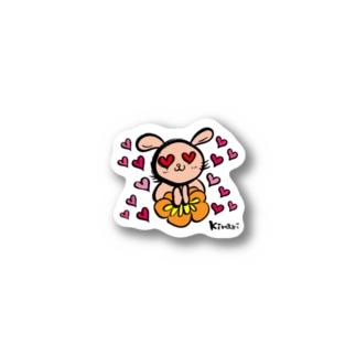 はぁと💗うさぎ Stickers