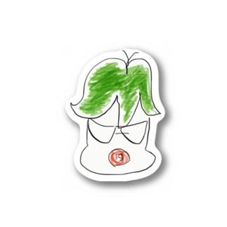 ベイビーシロ Stickers