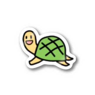 かめ Stickers