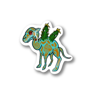 oasis camel Stickers