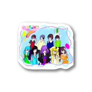 ninecolors Stickers