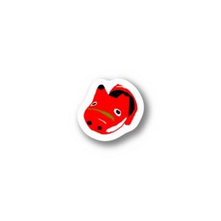 ピンポイントあかべこ Stickers