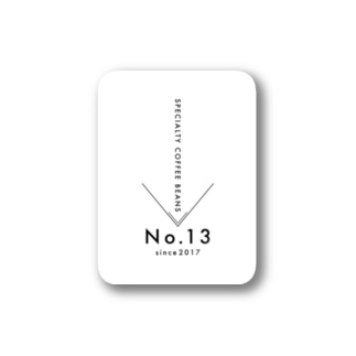 SPECIALTY COFFEE BEANS No.13 Stickers