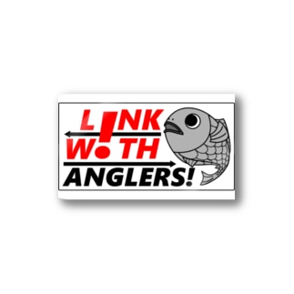 L!NK W!TH ANGLERS! 公式ステッカー Stickers