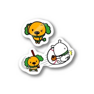 てへへなプーペポパッピ Stickers
