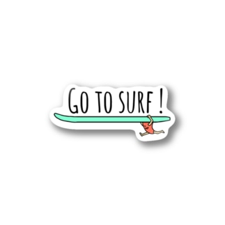 GO TO SURF! Stickers