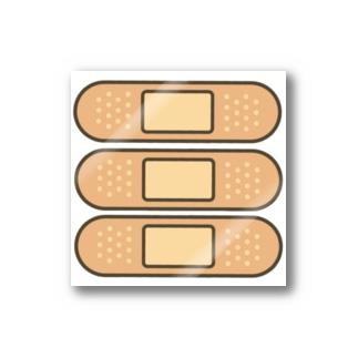 バンドエイドステッカー Stickers