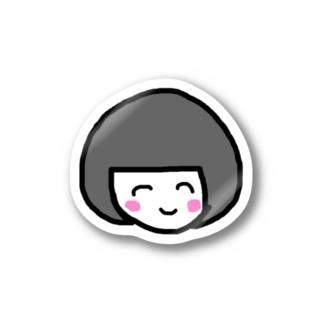 こけし Stickers