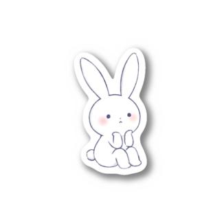 寂しがりうさぎ・黄昏 Stickers