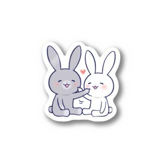 なかよしうさぎ・つんつん Stickers