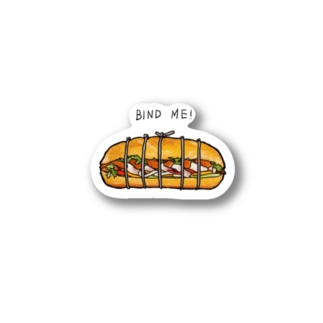 バインドミー! Stickers