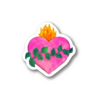 💗🌿観葉植物+メキシコハート🌿💗 Stickers