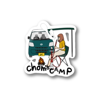 chomocampグッズ Stickers