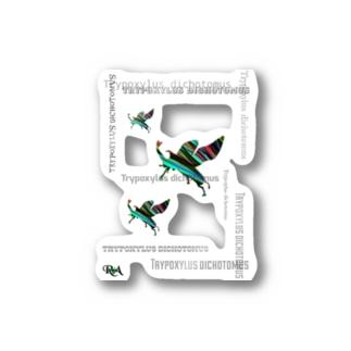 カブトムシステッカー【tropics RA】 Stickers