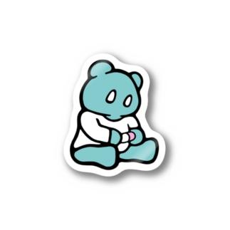 サリエちゃんステッカー Stickers