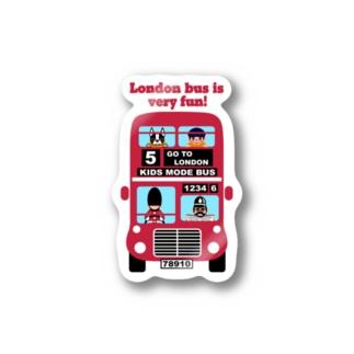 楽しいロンドンバス♪ Stickers