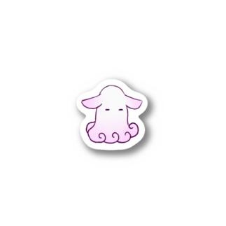 眠たいジュウモンジダコさん Stickers