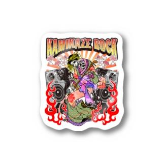 カミカゼロック!!!! Stickers