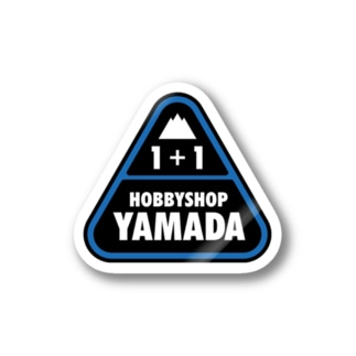 HOBBY SHOP YAMADA MINI4WD TEAM LOGO Stickers
