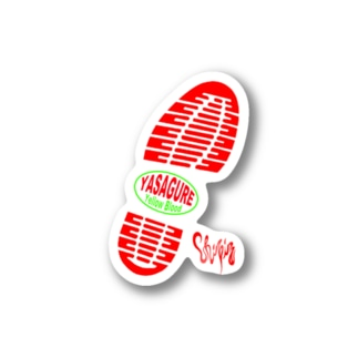 yasagure yellow blood. Stickers