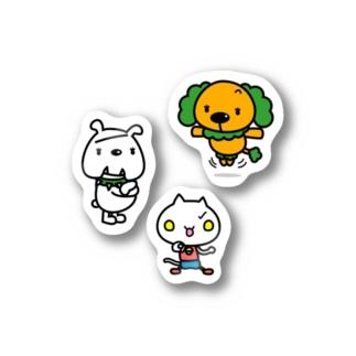 プーペポパッピ・ブーベボバッビ・コスミャー Stickers