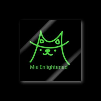 うさこりたんのMie Enlightened 黒 Stickers