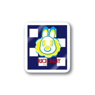 RICH BABY by iii.store Stickers