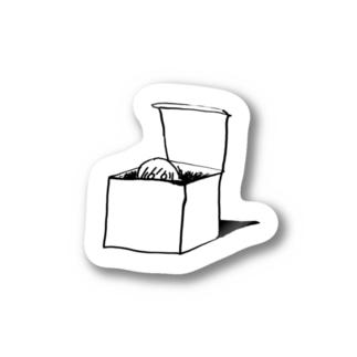 箱のシール Stickers