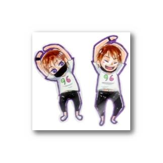 くろきゅんの日グッズ Stickers