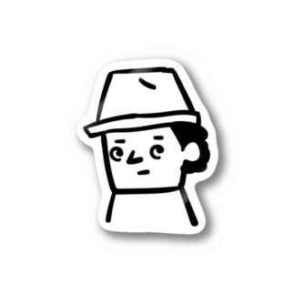 ヒグマ部員 Stickers
