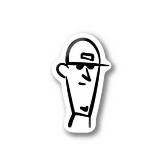 チェアマン Stickers