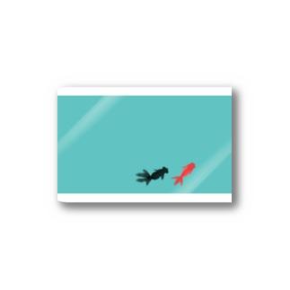 水面下の金魚 Stickers