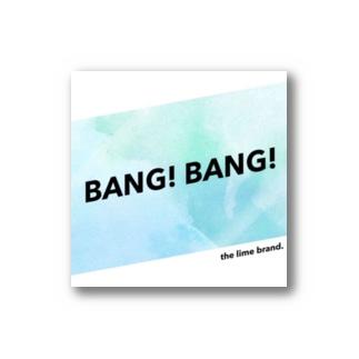 LIME - BANG! BANG! series Stickers