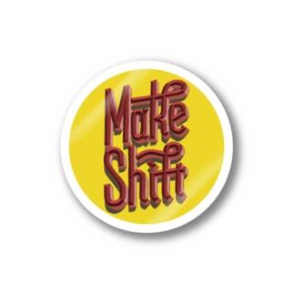 Make Shift Sticker ステッカー
