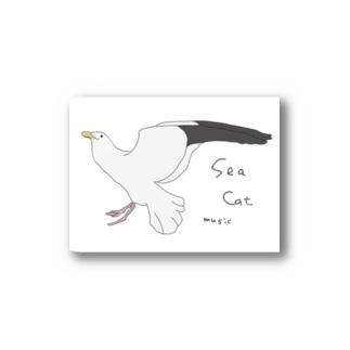SeaCatMusic Stickers